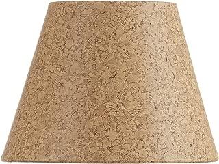 Upgradelights Natural Cork 6 Inch European Barrel Style Chandelier Lamp Shade 3.5x6x4.5