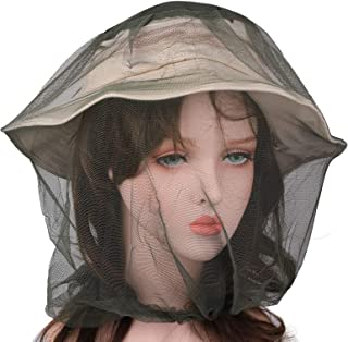 Flammi Mosquito Head Net Mesh Face Neck Protection from Insects Bugs Flies Gnats