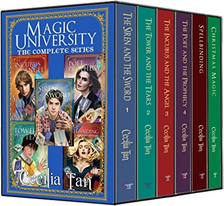 Magic University: The Complete Series: A Magical New Adult Romance Box Set (The Magic University Series Book 6) (English Edition)