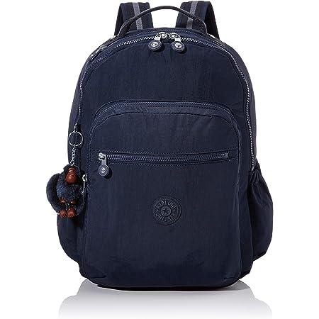 Kipling SEOUL GO Mochila escolar, 44 cm, 27 litros, Azul (True Blue Tonal)