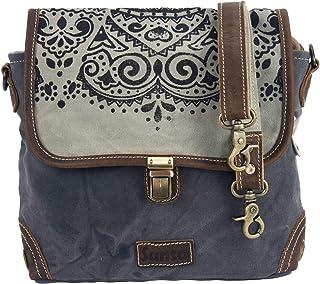 Sunsa Damen Tasche,Messenger Bag, Umhängetasche, Canvas Handtasche, Klein Crossbody Schultertasche, Geschenk Ideen für Fra...