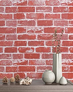 faux brick peel and stick
