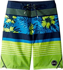 O'Neill Kids - Hyperfreak Renegade Boardshorts (Big Kids)