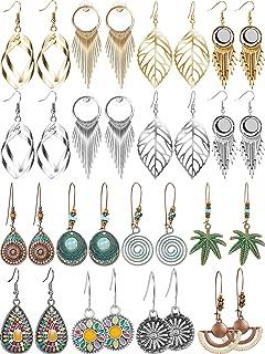 Best vintage amber drop earrings Reviews