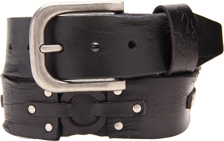 BED:STU Indefinitely Men's Holster Belt Inch Black Waist 40 Over item handling
