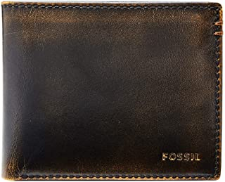 Fossil Men's Wade Leather Bifold Wallet