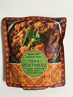Trader Joe's Indian Fare Tikka Vegatables 10 oz single