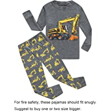 ad59ebe309 Family Feeling Truck Little Boys Kids Pajamas Sets 100% Cotton Pjs Toddler
