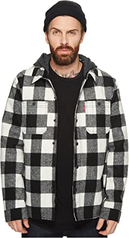 Levi's® Wool Blend Trucker with Jersey Hood and Soft Sherpa Lining