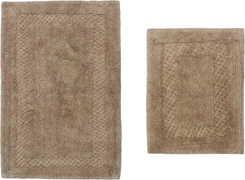 Home Weavers Classy 着後レビューで 送料無料 Bathmat スーパーセール期間限定 Collection Absorbent Cotton P 2 Soft