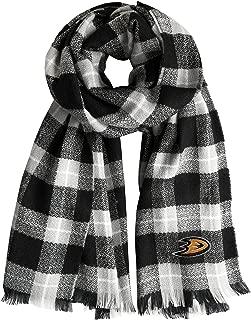 Littlearth NHL Ottawa Senators Unisex Nhlnhl Plaid Blanket Scarf