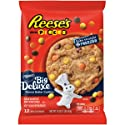 Pillsbury Ready to Bake Refrigerated Cookies Big Deluxe Reese's Mini Pieces Peanut Butter 12 Count 16.0 oz Pack
