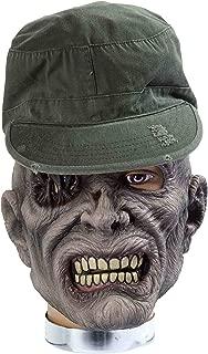 Forum Novelties Zombie Mask with Hat, Sarge