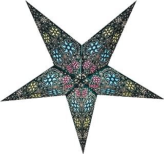 GalaxyArts - Chakra (Turquoise, Medium) - Paper Star Lantern - Handmade