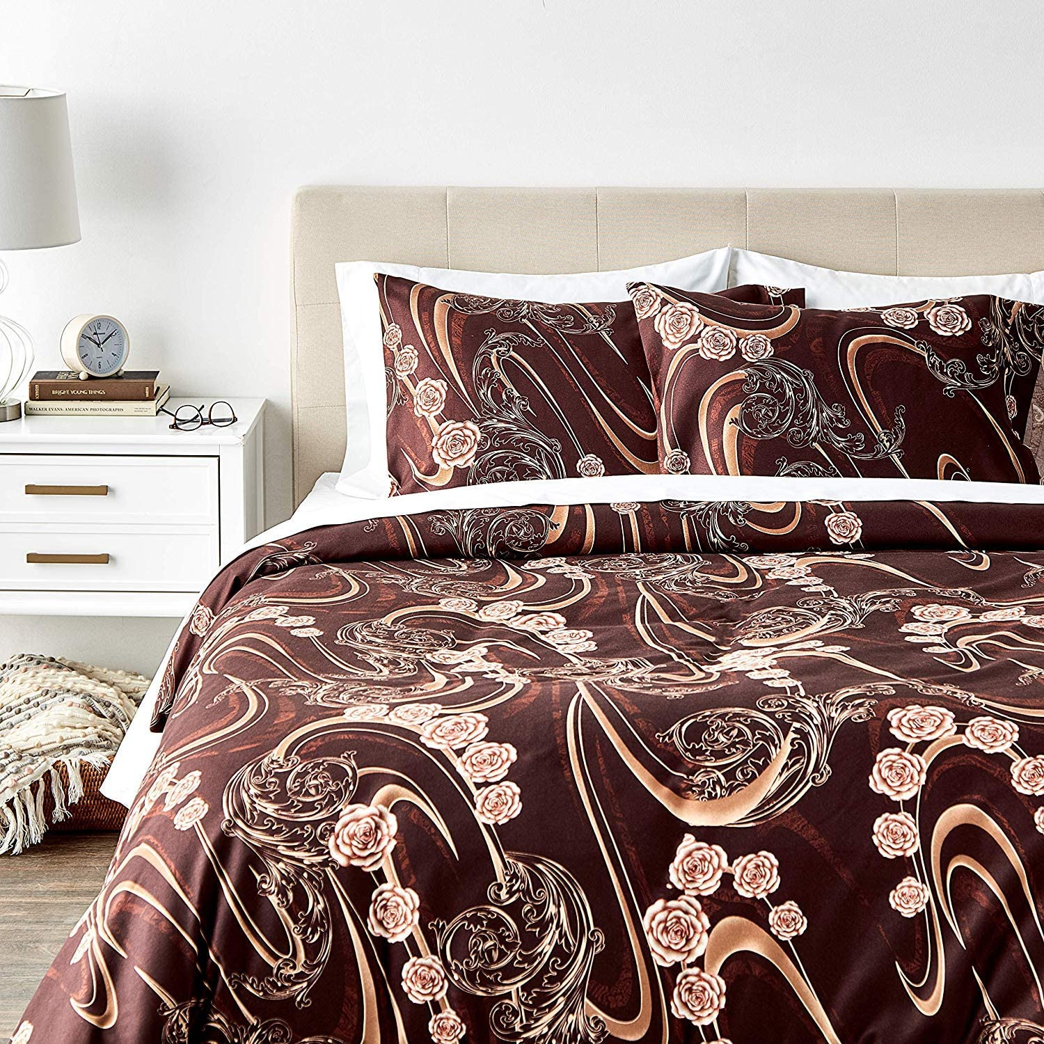 Tache Indianapolis Mall Home Fashion Melted Gold Duvet Floral Set Seasonal Wrap Introduction Cover Californi