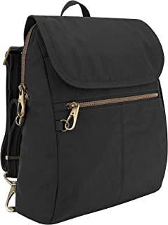 Travelon Anti-theft Signature Slim Backpack, Black