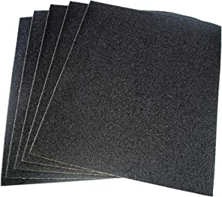 RDGTOOLS Flexovit by Norton Finishing Sandpaper 230 x 280 mm x 3 Sheets 180 Grit