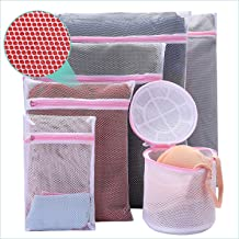 Mesh Laundry Bag 6 Pack Bra Washing Bag Travel Storage Organize Bag Lingerie Laundry Bag Men's Underwear Laundry Bag Cloth...
