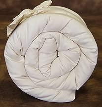 Holy Lamb Organics Quilted Wool Deep Sleep Mattress Topper - TWIN XL