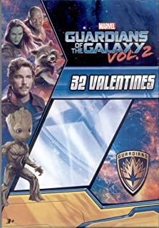 Guardians of the Galaxy Vol. 2 Kids Valentines Day Card Classroom Exchange (32 count)