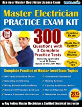 Master Electrician License Exams - Based on the 2014 NEC: Practice Exams, Flash Card Study System, Exam Review & Testing Tips