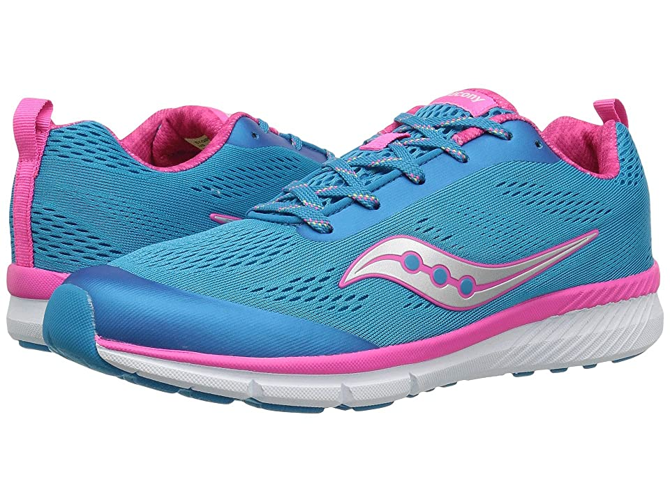 Saucony Kids Ideal (Big Kid) (Blue) Girl