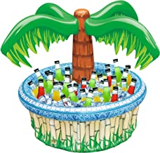 """28"""" Inflatable Palm Tree Cooler, Beach Theme Party Décor, Party Supplies for Pool Party, Luau Party and Hawaiian Party"""
