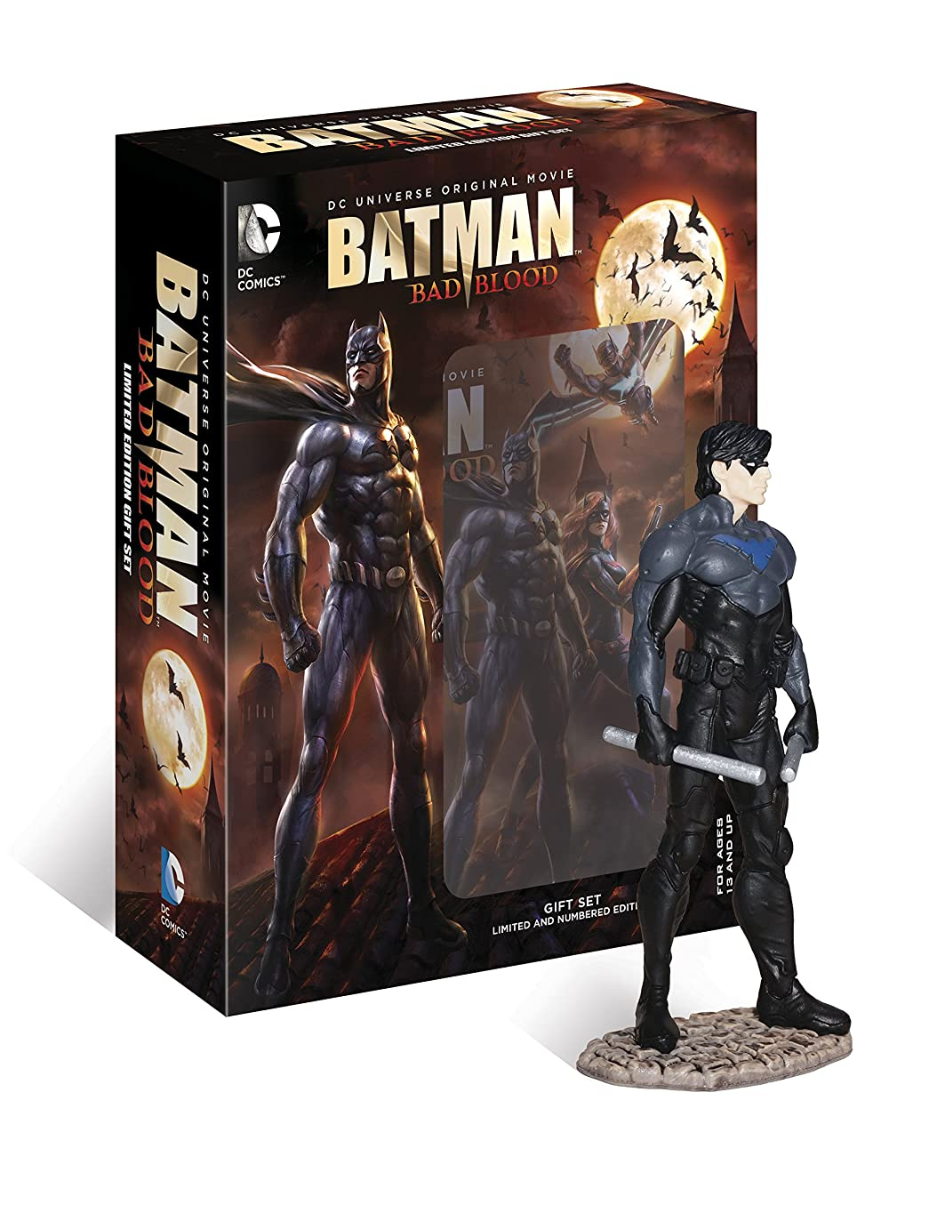 電気電子健全バットマン:バッド?ブラッド ブルーレイ〈ナイトウィング フィギュア付き〉 [Blu-ray]