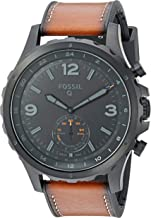 Fossil Men's Nate Stainless Steel Hybrid Smartwatch with Activity Tracking and..