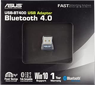Asus USB-BT400 Nano Bluetooth Stick (use PS4 and Xbox One Controller on PC, Bluetooth 4.0)