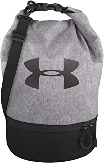 Under Armour Dual Compartment Lunch Bag, Heather Gray/Black