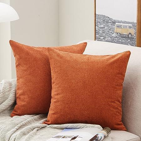 Square Suede Cushion Cover Throw Pillowcase Slip Wedding Home Decor Navy