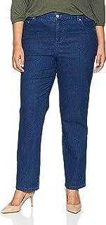 Just My Size Women's Apparel Women's Plus Size 5 Pocket Jean, Indigo, 2X (18W/20W) Petite