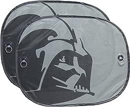 Plasticolor 003746R01 Star Wars Darth Vader Parasol para Ventana Lateral, 2 Piezas