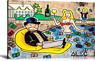 ALEC Monopoly HD Printed Oil Paintings Home Wall Decor Art On Canvas ALEC Monopoly Vacation 24x36inch Unframed