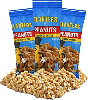 Planters Lightly Salted Cocktail Peanuts (2 oz Bags, Pack of 36)