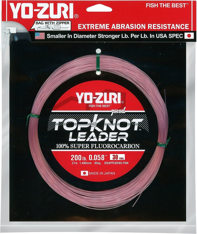 Yo-Zuri Topknot Ranking TOP12 Elegant 30 yd Sinking 200 Pink lb Leader Disappearing