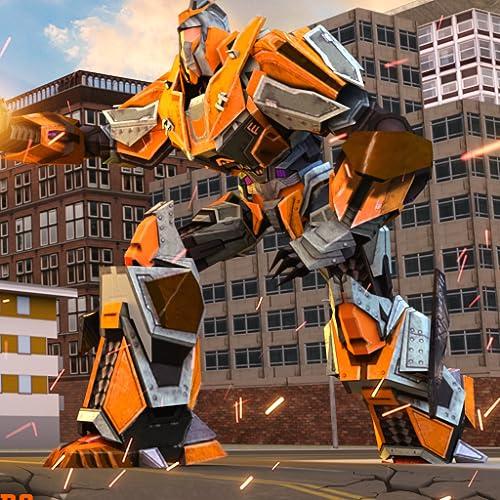 Transformação do robô Tornado Grand Fire