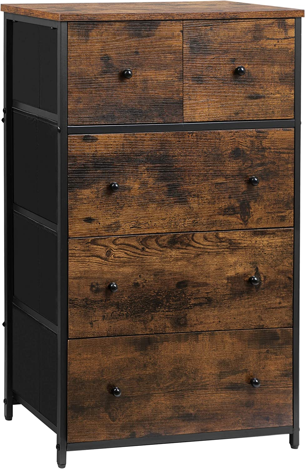 CASATOCA 5 Drawer NEW before selling Dresser Storage Popular product Cabinet with Drawers Fabric