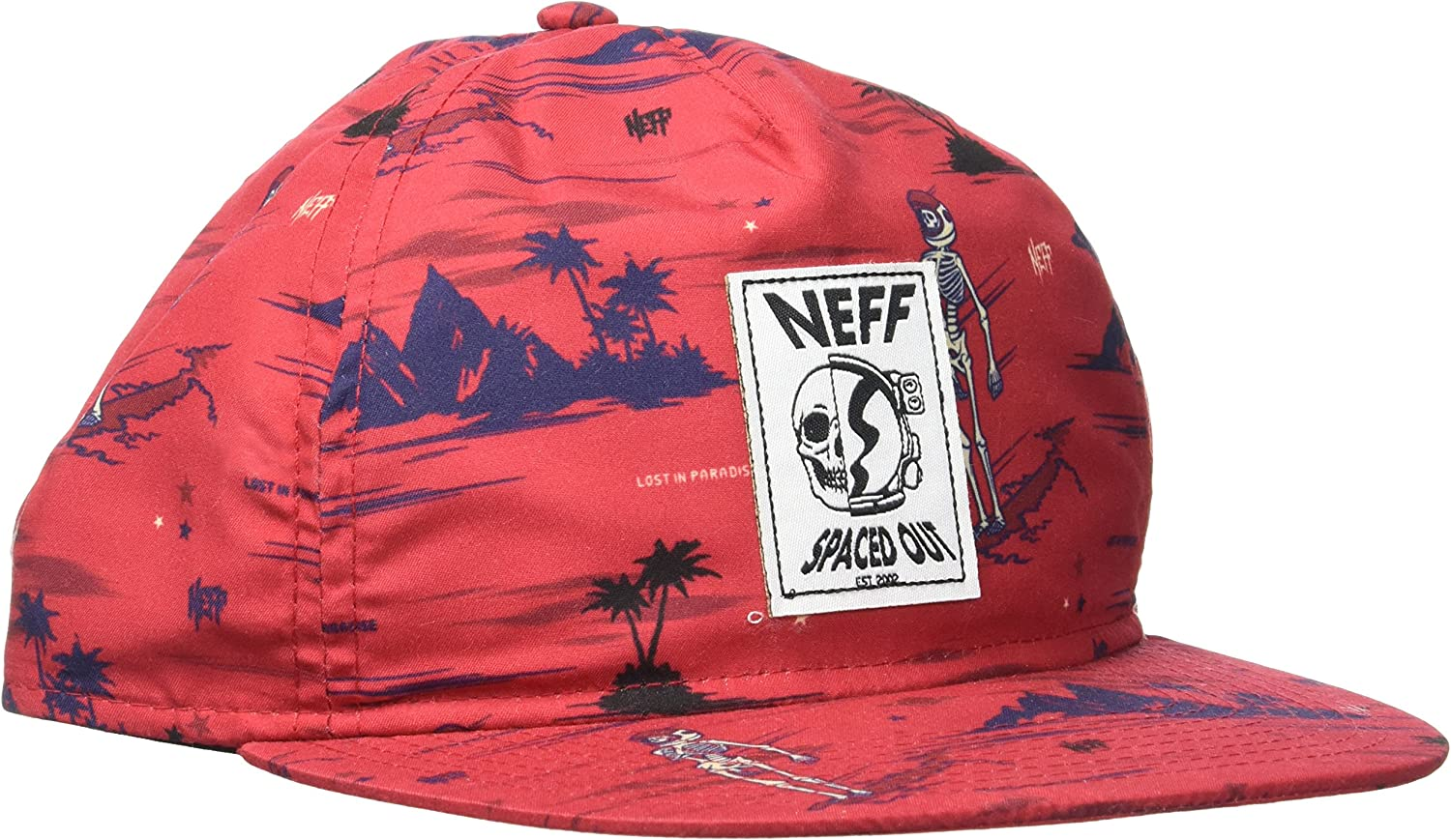 Neff Men's Space Out Snapback Hat