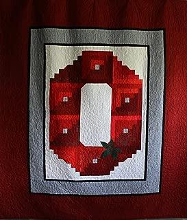 The T Shirt Quilt Company, Delinda Eaton NCAA Ohio State Buckeyes Custom Bedding, Queen