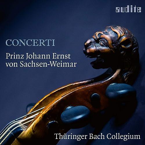 Bildergebnis für Concerti von Prinz Johann Ernst von Sachsen-Weimar bei audite erschienen