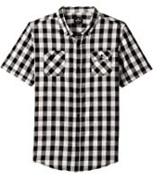 Rip Curl Kids - Check Swing Short Sleeve Shirt (Big Kids)