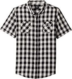 Check Swing Short Sleeve Shirt (Big Kids)