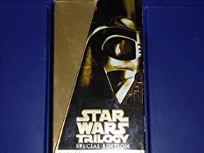 STAR WARS TRILOGY - (SPECIAL EDITION) - 3 VHS tapes