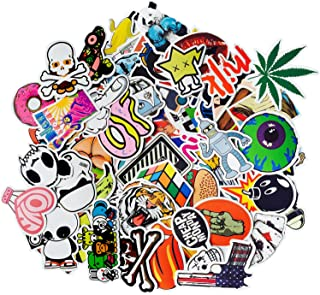 Korlon 200 Sticker Pack, Vsco Stickers Bumper Stickers Bomb Graffiti Stickers for Water Bottles Skateboards Motorcycle Bicycle Luggage Laptop, Waterproof Random Patterns