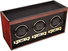 Wolf Designs 4537-10 Meridian Triple Watch Winder