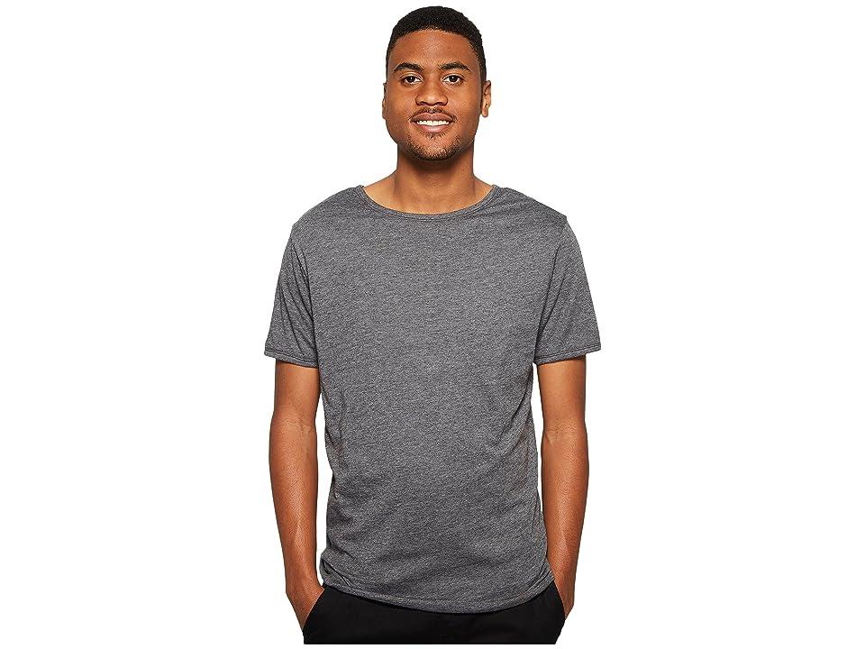 Image of 4Ward Clothing Four-Way Reversible Short Sleeve Jersey Shirt (Charcoal/Black) Boy's T Shirt