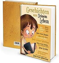 Logbokförlag dagbok anteckningsbok för barn från föräldrar: unga – historier från livet, DIN A4, filtsidor