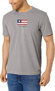 Life Is Good Men's Mens Vintage Crusher T-Shirt Athletic-t-Shirts